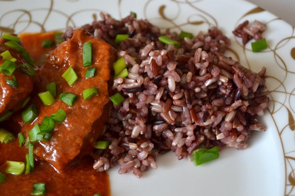 ryż z mięsem