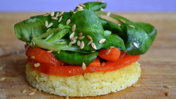 Kasza jaglana zapiekana z warzywami (bez glutenu, mleka, jajek)
