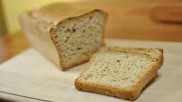 Bezglutenowy chleb owsiany (bez mleka, cukru, jajek)