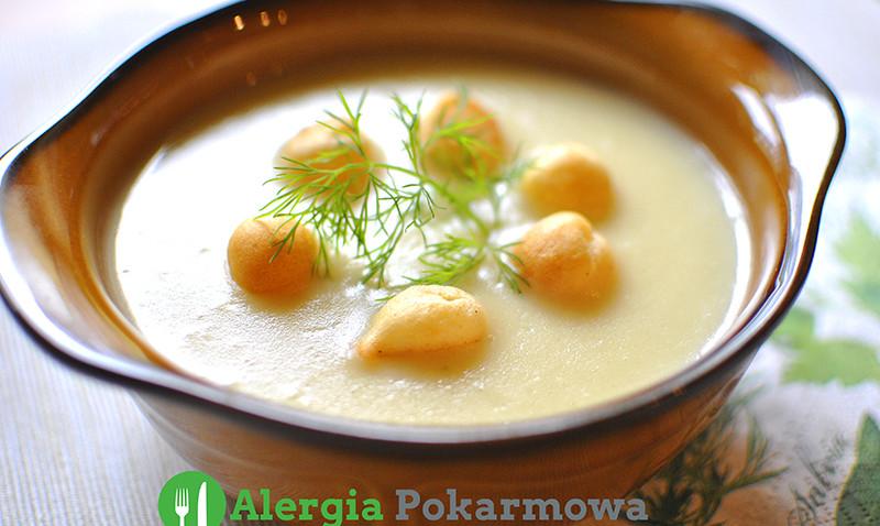 Zupa Krem Z Bialych Szparagow Bez Glutenu Mleka Soi
