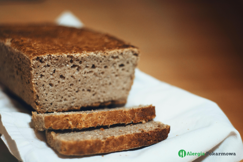 Chleb bezglutenowy na drożdżach (bez pszenicy, mleka, jajek)