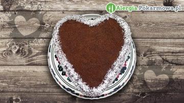Torcik z kremem czekoladowym (bez pszenicy, glutenu, mleka, jajek)