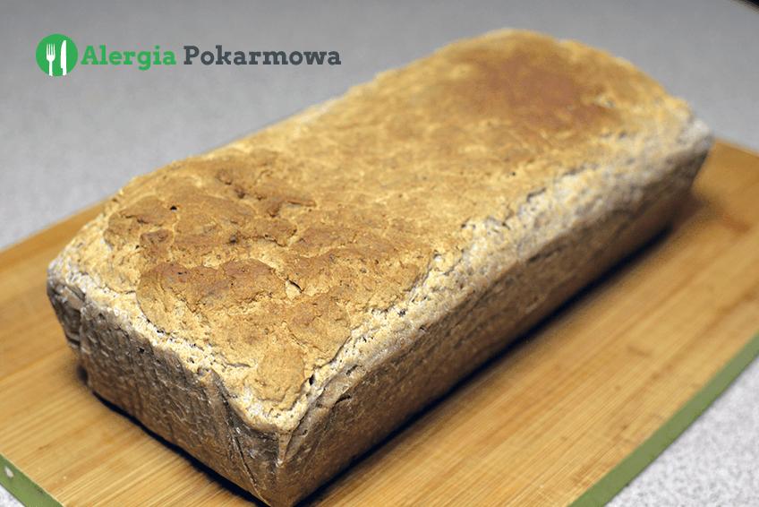 Chleb na zakwasie z teff (bez glutenu, pszenicy, mleka, jajek)