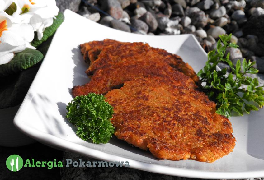 Placki ziemniaczano-marchewkowe (bez glutenu, pszenicy, mleka, jajek)