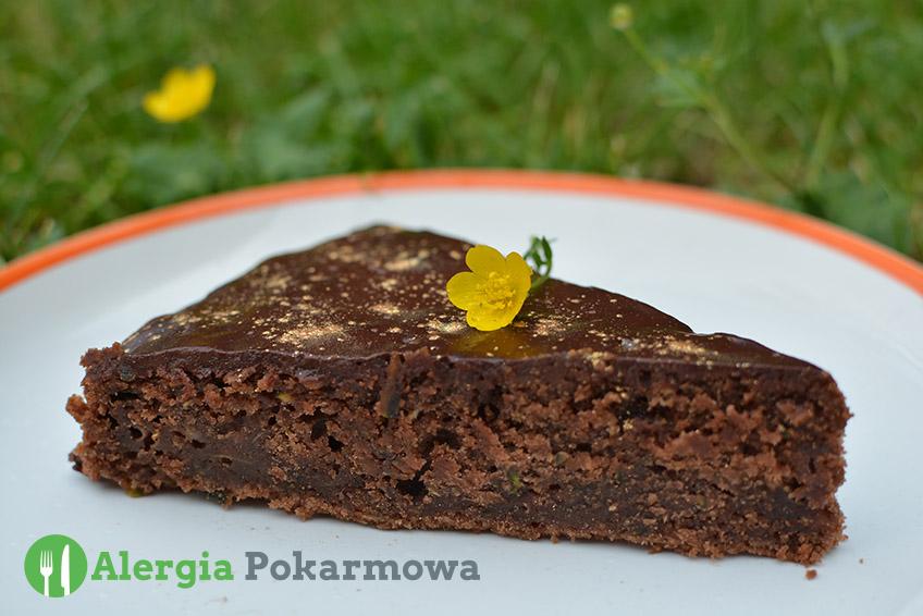 Bezglutenowe brownie cukiniowe (bez pszenicy, mleka, jajek)