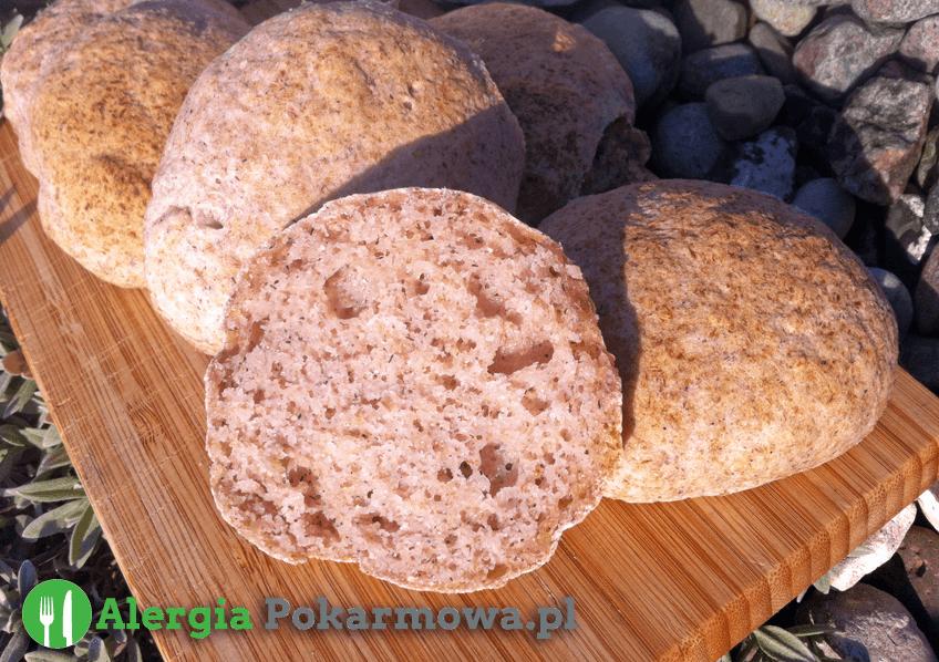 Bezglutenowe bułki owsiano-jaglane (bez pszenicy, mleka, jajek)