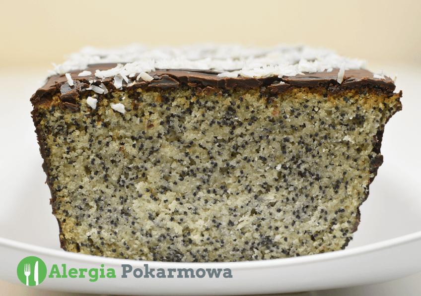 Bezglutenowe ciasto makowe – Piegusek (bez pszenicy, mleka, jajek)