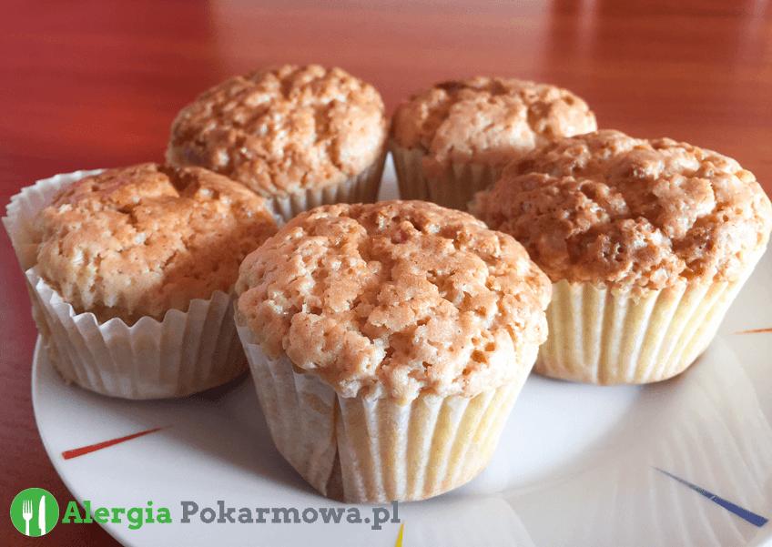 Babeczki  jaglano–owsiane (bez glutenu, mleka, jajek)
