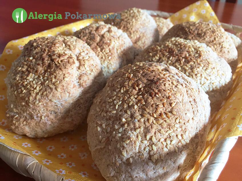 Bułki gryczano–jaglane (bez glutenu, mleka, jajek)
