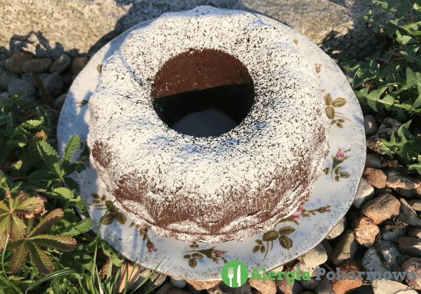 Bezglutenowa babka czekoladowa (bez pszenicy, mleka, jajek)